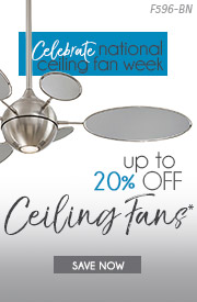 Lighting New York | National Ceiling Fan Week | Up To 20% OFF Ceiling Fans