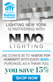 Nuvo outdoor lighting nuvo lighting habitat for humanity 15 off the entire line mozeypictures Images