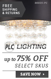 PLC Lighting | up to 75% Off Select SKUs