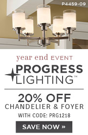 Progress Lighting | 20% OFF Chandelier & Foyer | with code: PRG1218 | Save Now
