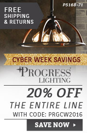 Progress Lighting | 20% Off the Entire Line
