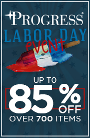 PROGRESS LABOR DAY EVENT: Up To 85% Off Over 700 Items!