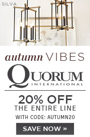 Autumn Vibes | Quorum | 20% Off the Entire Line | With Code: AUTUMN20 | Save Now