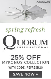 Spring Refresh | Quorum | 25% Off Mykonos Collection | With Code: REFRESH20 | Save Now