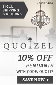 Quoizel | 10% Off Pendants