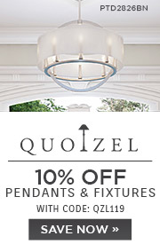 Quoizel | 10% OFF Pendants & Fixtures | with code: QZL119 | Save Now