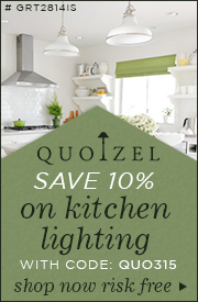 Save 10% on Kitchen Lighting!