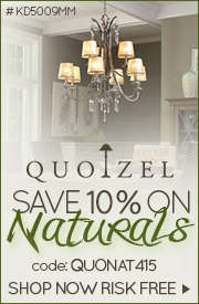 Save 10% on QUOIZEL NATURALS!