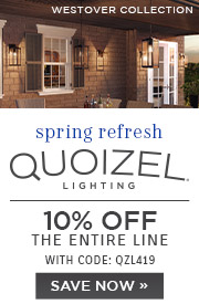 Spring Refresh | Quoizel Lighting | 10% OFF The Entire Line | with code: QZL419 | Save Now