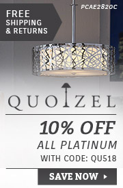 Quoizel | 10% OFF All Platinum