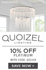 Quoizel Lighting | 10% Off Platinum | With Code: QZL519 | Save Now