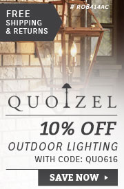Quoizel Lighting | 10% Off Outdoor Lighting