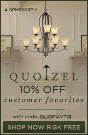 Save 10% on Quoizel's Customer Favorites!