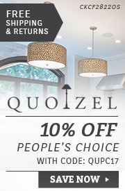 Quoizel | 10% Off People's Choice