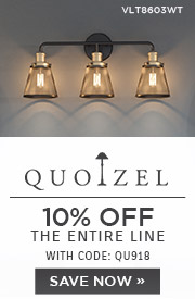 Quoizel | 10% OFF the Entire Line | with code: QU918