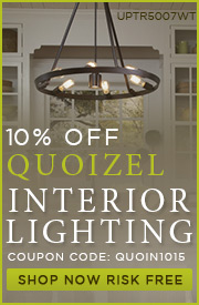 Quoizel | 10% off Interior Lighting