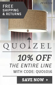 Quoizel | 10% Off the Entire Line