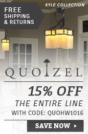 Quoizel | Halloween Sale | 15% Off the Entire Line