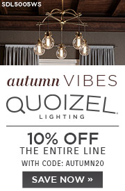Autumn Vibes | Quoizel Lighting | 10% Off the Entire Line | With Code: AUTUMN20 | Save Now