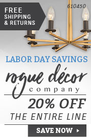 Rogue Decor Company | Labor Day Savings | 20% Off the Entire Line