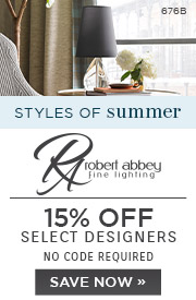 Styles of Summer | Robert Abbey | 15% Off Select Designers | No Code Required | Save Now