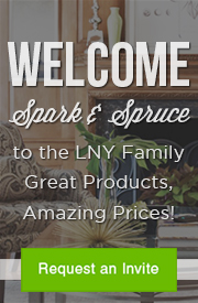 Spark & Spruce joins the LNY family! Request your exclusive invite now!