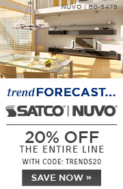 Trend Forecast | Satco | Nuvo | 20% Off the Entire Line | With Code: TRENDS20 | Save Now