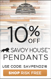 Savoy House | 10% off Pendants