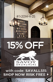 15% OFF SAVOY HOUSE!