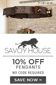 Savoy House | 10% OFF Pendants | No Code Required