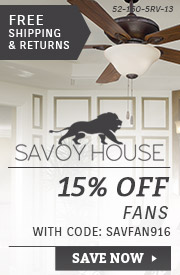 Savoy House | 15% Off Fans