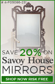 Save 20% on Savoy House Mirrors!