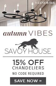 Autumn Vibes | Savoy House | 15% Off Chandeliers | No Code Required | Save Now