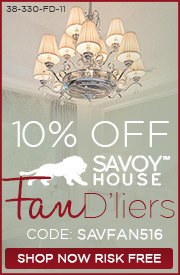 Savoy House | 10% Off Fan D'liers