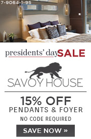 Presidents' Day Sale | Savoy House Lighting | 15% Off Pendants & Foyer | No Code Required | Save Now (COPY)