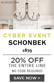Cyber Event | Schonbek | 20% Off the Entire Line | No Code Required | Save Now