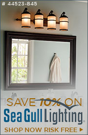 10% Off Sea Gull Lighting!