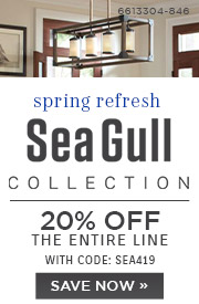 Spring Refresh | Sea Gull Collections | 20% OFF The Entire Line | with code: SEA419 | Save Now