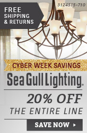 Sea Gull Lighting | 20% Off Entire Line