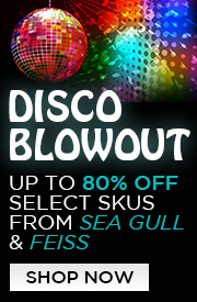 Up to 80% Off Select Skus from SEA GULL & FEISS!