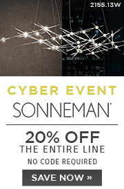 Cyber Event | Sonneman | 20% Off the Entire Line | No Code Required | Save Now