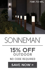 Out Is In | Sonneman | 15% Off Outdoor | No Code Required | Save Now
