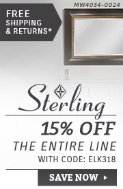 Sterling | 15% OFF The Entire Line