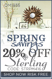 Spring Savings | 20% Off Sterling Collection