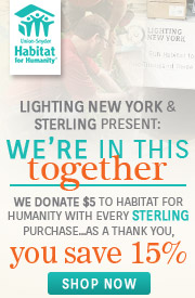 Sterling | Habitat for Humanity | 15% OFF The Entire Line