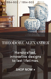 Theodore Alexander | Handcrafted, innovative designs to last lifetimes | Shop Now