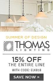 Thomas Lighting | 15% OFF The Entire Line | with code: ELK818