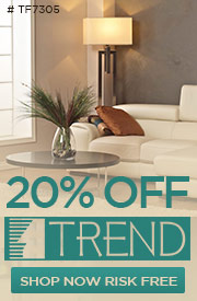 10% off TREND LIGHTING!