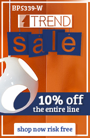 10% off the entire Trend Lighting Line!