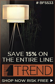 Save 15% on the ENTIRE line of TREND!